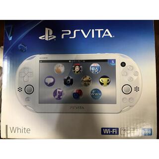 プレイステーションヴィータ(PlayStation Vita)の極美品♪ SONY PlayStationVITA PCH-2000 ZA12(携帯用ゲーム機本体)