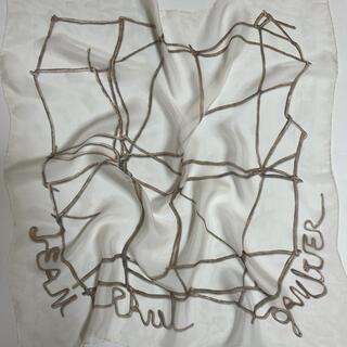 ジャンポールゴルチエ(Jean-Paul GAULTIER)の激レア!シルクスカーフ ロープ柄ジャンポールゴルチェ(バンダナ/スカーフ)