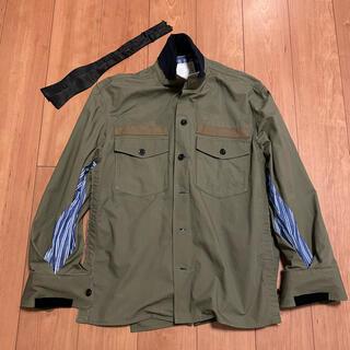 sacai - サカイ sacai ファブリックコンボシャツ 2 ジャケット ブルゾン