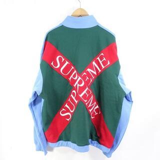 シュプリーム(Supreme)のSupreme Cross Logo Half Zip Sweatshirt(パーカー)