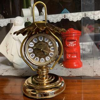 【昭和レトロ】シチズン置き時計♡まちかどシリーズ♡ランプ型アラーム付