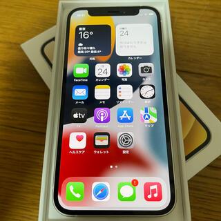 iPhone - 先週購入!SIMフリー iPhone12 mini 64GB ホワイト 一括購入