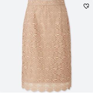 【新品未使用】UNIQLO * レーススカート