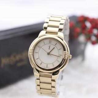 サンローラン(Saint Laurent)の正規品【新品電池】YvessaintLaurent/6031 動作良好 美品(腕時計)