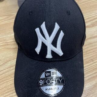 NEW ERA キャップ NY ヤンキース黒