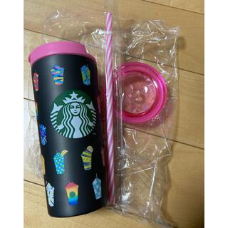 スターバックスコーヒー(Starbucks Coffee)のスタバ福袋2021 フラペチーノ ブラックステンレスタンブラー(タンブラー)