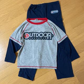 アウトドア(OUTDOOR)のキッズ 薄手パジャマ 上下セット 130cm(パジャマ)