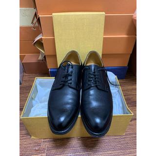 リーガル(REGAL)の美品⬛︎REGAL リーガルプレーントゥ25cm 黒(ドレス/ビジネス)