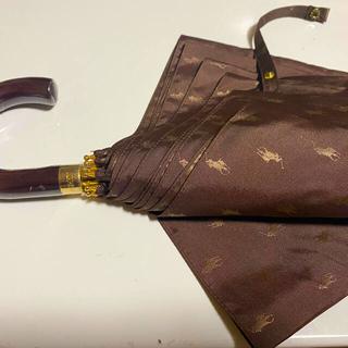 ラルフローレン(Ralph Lauren)の❤️Ralph Lauren ロゴジャガード折り畳み傘 素敵です❗️(傘)