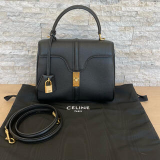 celine - CELlNE セリーヌ セーズ 16 スモール ブラック 黒