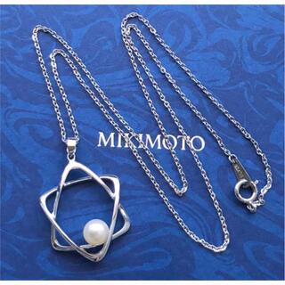 MIKIMOTO - 美品✨MIKIMOTOミキモトネックレス 1Pアコヤ本真珠6.5mm シルバー