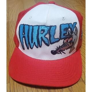 Hurley - Hurleyハーレー キャップ帽子調節可能ゼブラ柄 希少品アメカジ
