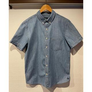 アメリカンイーグル(American Eagle)のアメリカンイーグル シャンブレー 半袖 シャツ L(XL)(シャツ)