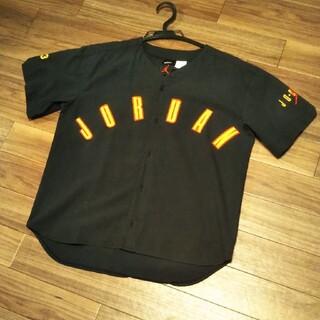 NIKE - 90s nike jordan ベースボールシャツ