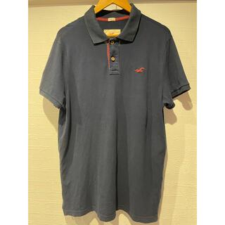ホリスター(Hollister)のホリスター 鹿の子ポロシャツ XL(ポロシャツ)