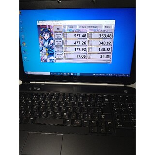 DELL - [値下げ]極美品 SSD+RAM8GB DELL LATITUDE E5520