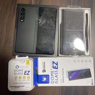 SAMSUNG - Samsung Galaxy Z Fold 3 5G 512G グリーン 香港版
