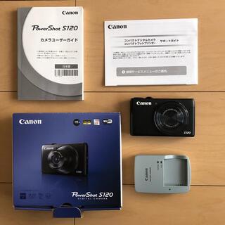 Canon - Canon PowerShot S POWERSHOT S120 BK