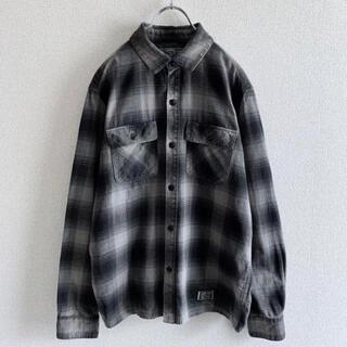 NEIGHBORHOOD - NEIGHBORHOOD ネイバーフッド オンブレチェックシャツ コットン