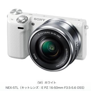 SONY - ミラーレスデジタル一眼レフカメラ SONY ソニー α NEX-5T