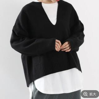 LOWRYS FARM - 【ローリーズファーム】未使用タグ付き✨かのこスリットニット セーター