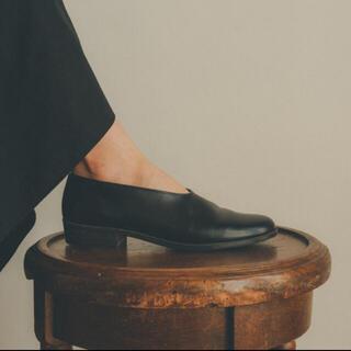 ステュディオス(STUDIOUS)のHARUTA×CLANE FLAT SHOES(ローファー/革靴)