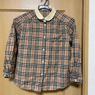 BURBERRY - ◆バーバリー Burberrys 長袖シャツ 130 バーバリーチェック