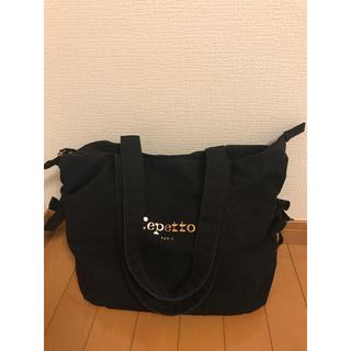 repetto - レペット   バッグ サイドリボン ブラック