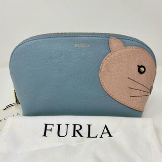 Furla - 未使用☺︎FURLA フルラ ポーチ ネコ ねこ 猫