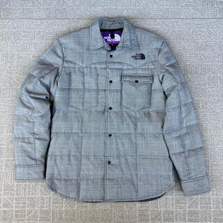THE NORTH FACE - ★美品!THE NORTH FACE PURPLE LABEL ダウンシャツ