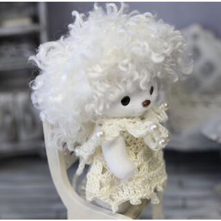 ハニーベア K630「たんぽぽ妖精」ワンピース&帽子&衿 服