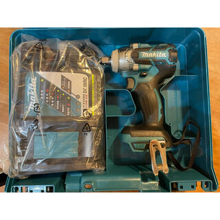 マキタ(Makita)のマキタ 18v インパクト TW285D セット品 新品未使用(工具)