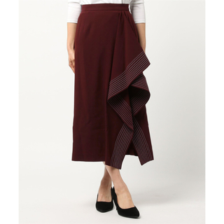ルシェルブルー(LE CIEL BLEU)のルシェルブルー デザインスカート(ひざ丈スカート)