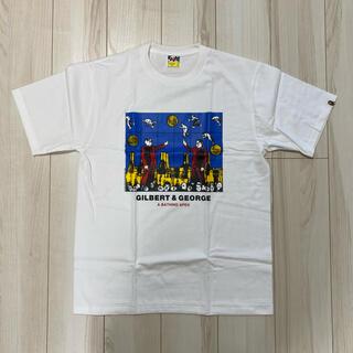 A BATHING APE - 【新品未使用】BAPE Gilbert & George Tシャツ サイズ L