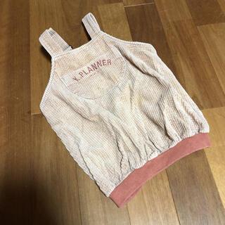 ニットプランナー(KP)のKP♡コーデュロイジャンパースカート90(ワンピース)