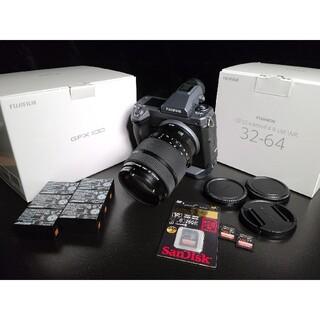 富士フイルム - FUJIFILM GFX100 GF32-64 NP-T125 SD セット