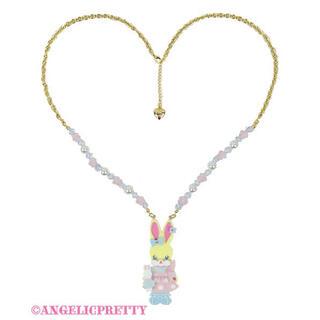 Angelic Pretty - Moco moco Lyrical Bunny Necklace
