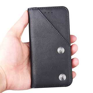 手帳型ケース iPhone XS / X アイフォン カバー カード入れ(iPhoneケース)