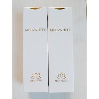 ミカホワイト2箱 ピンク アンミカ美白歯磨き粉
