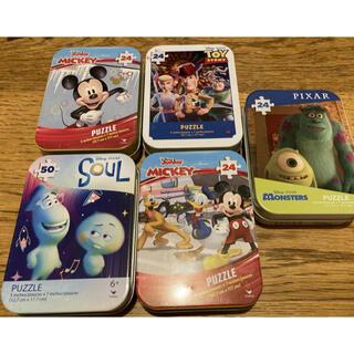 ディズニー パズル 缶入り5個セット(キャラクターグッズ)