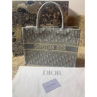 Christian Dior - クリスチャンディオール ブックトートバック グレー