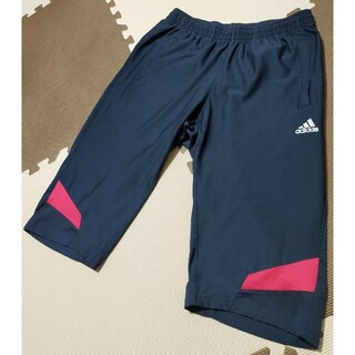 adidas - ☆AHP-344 アディダス ハーフパンツ 紺・赤 サイズ M