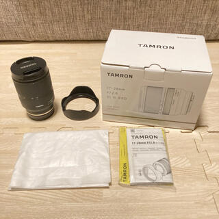 TAMRON - 17-28mm F/2.8 Di III RXD (Model A046) E