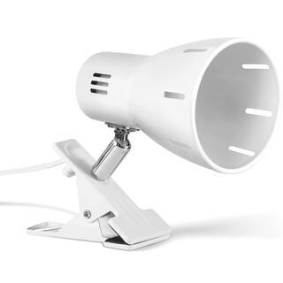 E26クリップライト 電気スタンド 角度回転 電球別売り ホワイト