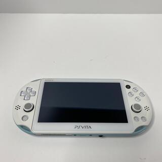プレイステーションヴィータ(PlayStation Vita)のSONY psvita 本体 PCH-2000 ZA14(携帯用ゲーム機本体)