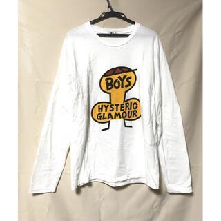 ヒステリックグラマー(HYSTERIC GLAMOUR)のHYS ヒステリックグラマーメン ロンT BOYSTシャツ(Tシャツ/カットソー(七分/長袖))