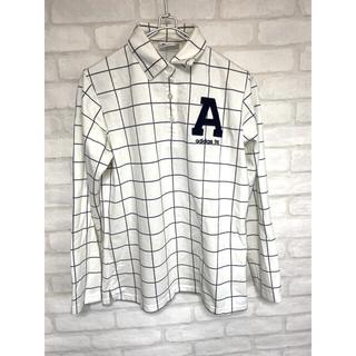 アディダスゴルフ ゴルフウェア レディース Lサイズ 長袖シャツ ポロシャツ