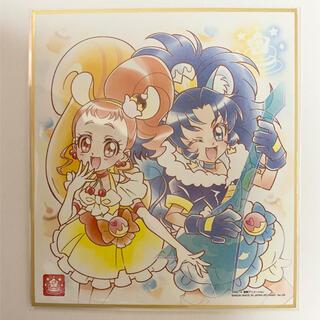 バンダイ(BANDAI)のプリキュア色紙ART5 キュアカスタード&ジェラート(印刷物)
