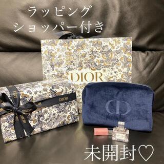 Christian Dior - ディオール 2021 クリスマスオファー ノベルティ ポーチ香水マキシマイザー