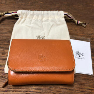 イルビゾンテ(IL BISONTE)のイルビゾンテ 二つ折り レザーウォレット 財布(財布)